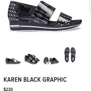 Miista London KAREN Black Sandals